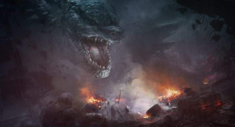 Godzilla confrontation