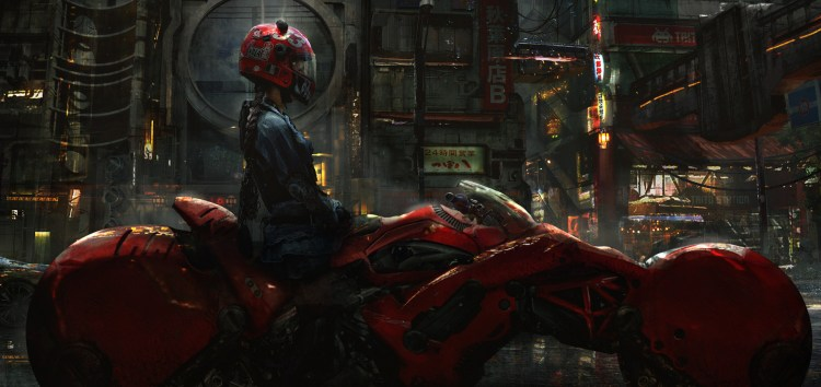 Science Fiction Biker