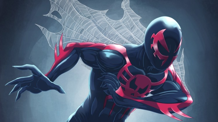 Spider-man 2099 in motion