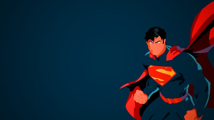 Superman with no mouth