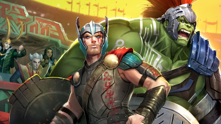 Thor and Hulk