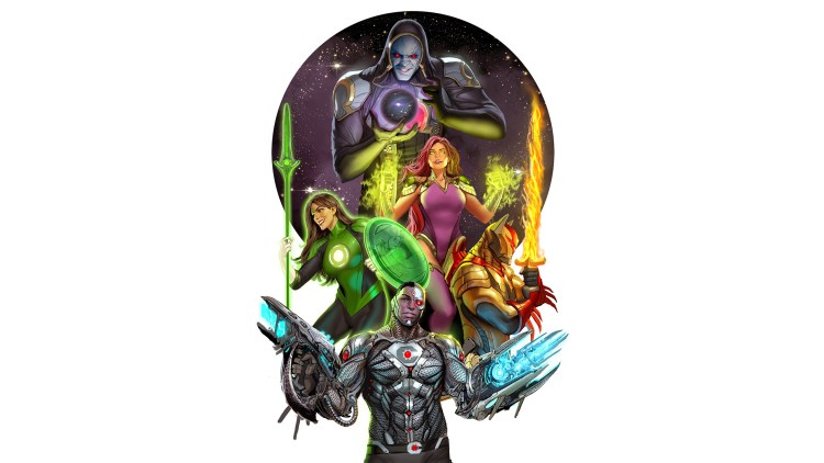 cyborg and crew