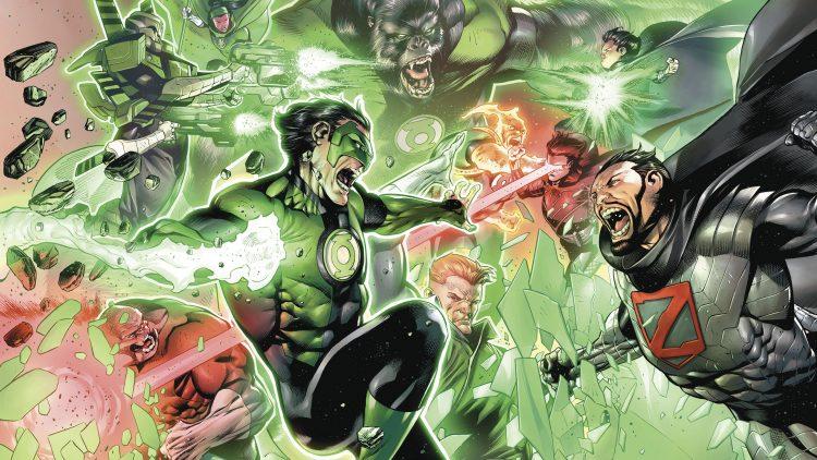 green lantern war