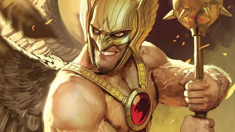 happily rageful hawkman