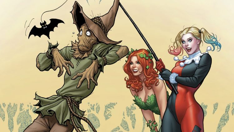 harley and ivy vs scarecrow