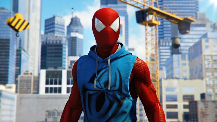 scarlet spider in ps4 game