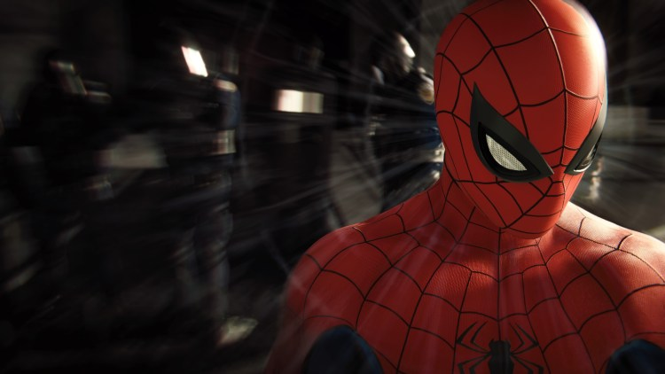 spider-man getting a migrane