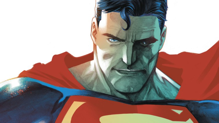 superman close up