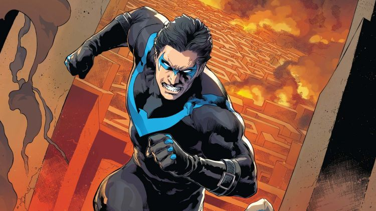 Angry Nightwing