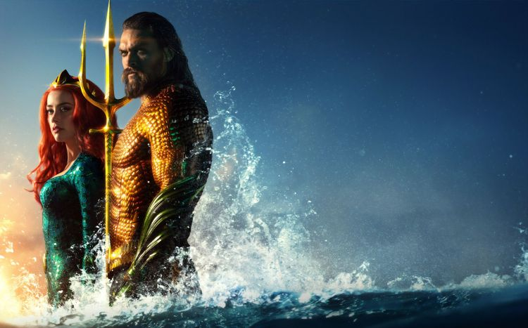 Aquaman water wallpaper