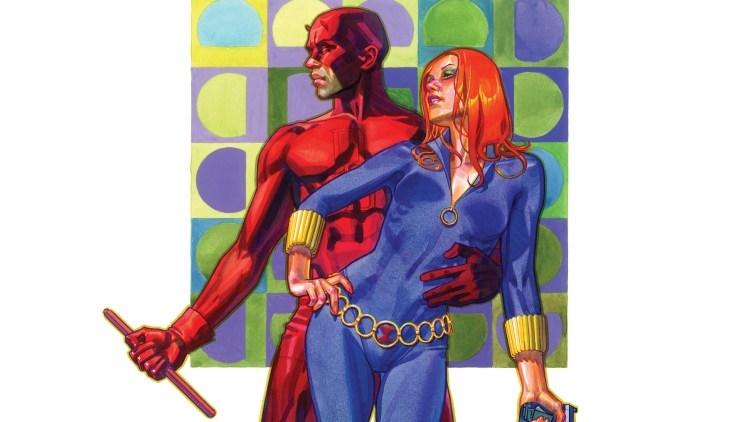 Black Widow and Daredevil