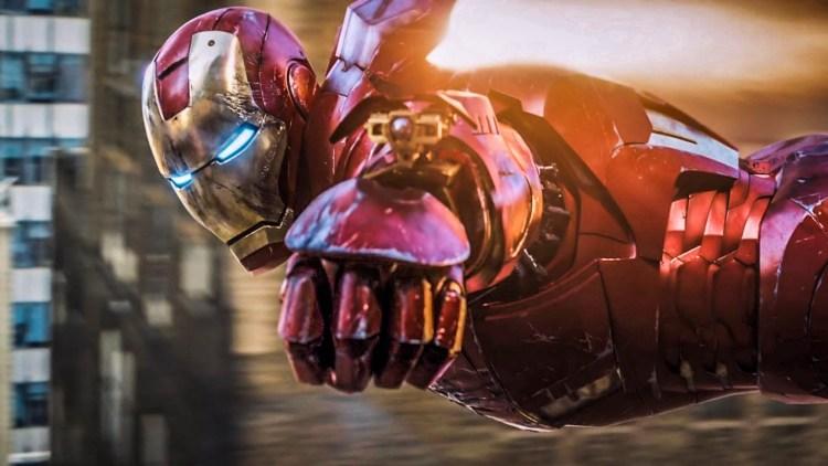 Iron man aims
