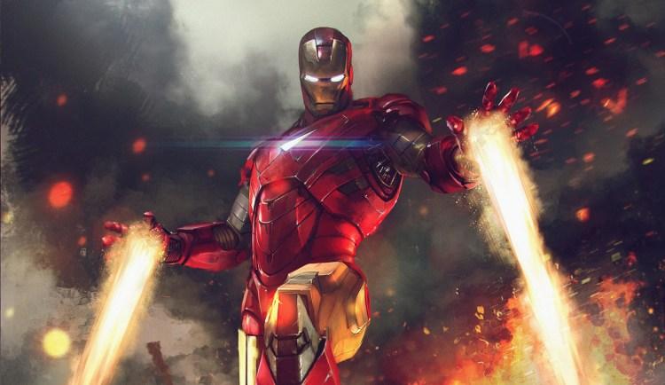 Iron man taking off