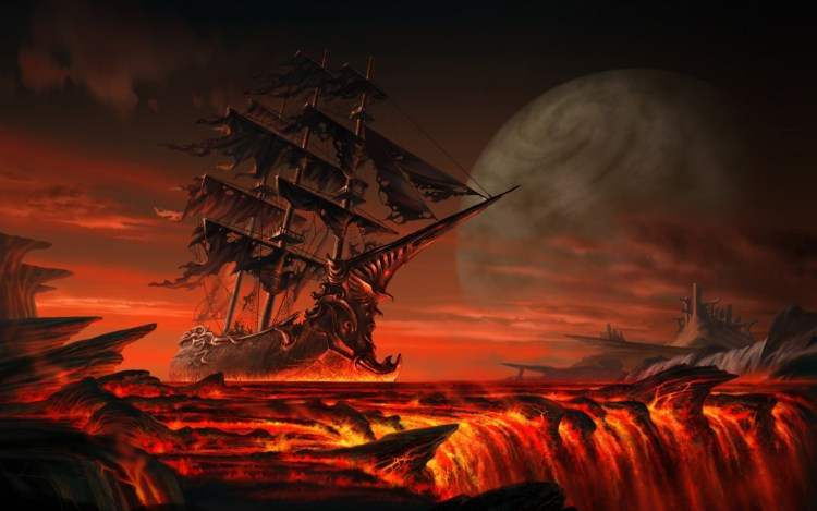 Lava Pirate Wreck