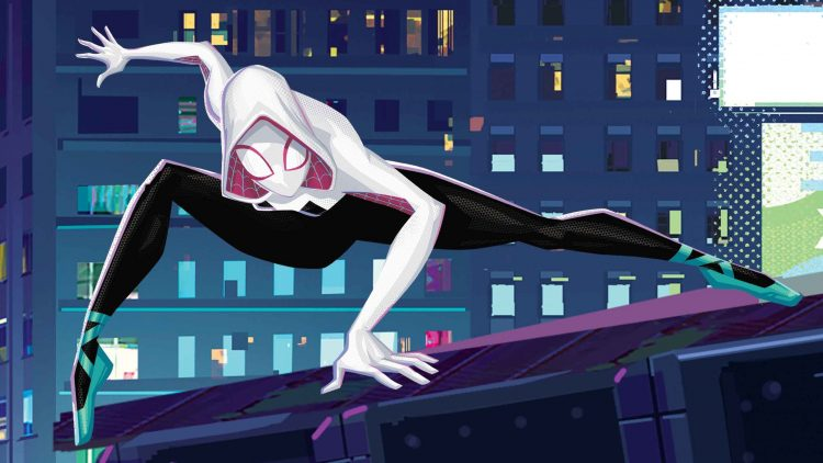 Spider-gwen in ballet shoes