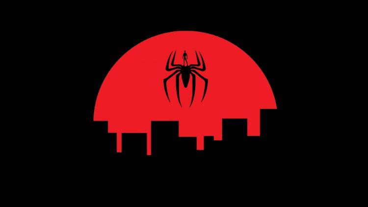 Spider-man logo in Japan