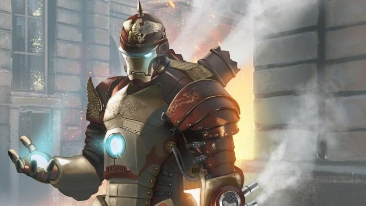 Steamwork Iron Man