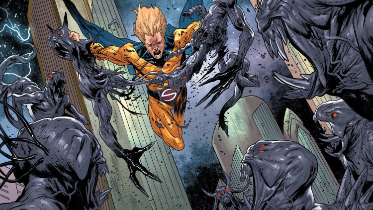 The Sentry Murdering Aliens
