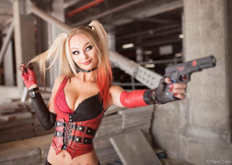 Zoeturnerxxx as Harley Quinn