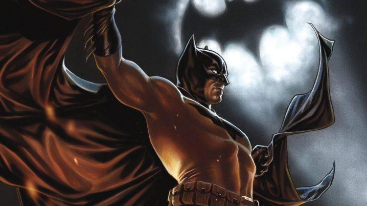 batman with the light