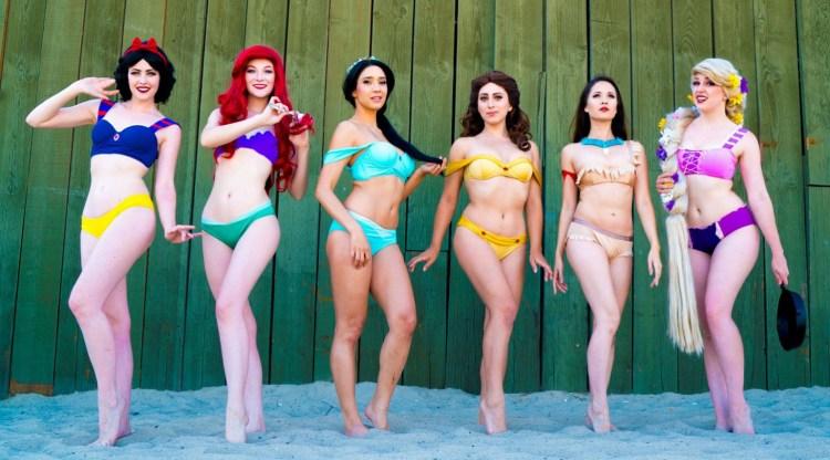 disney bikinis girls