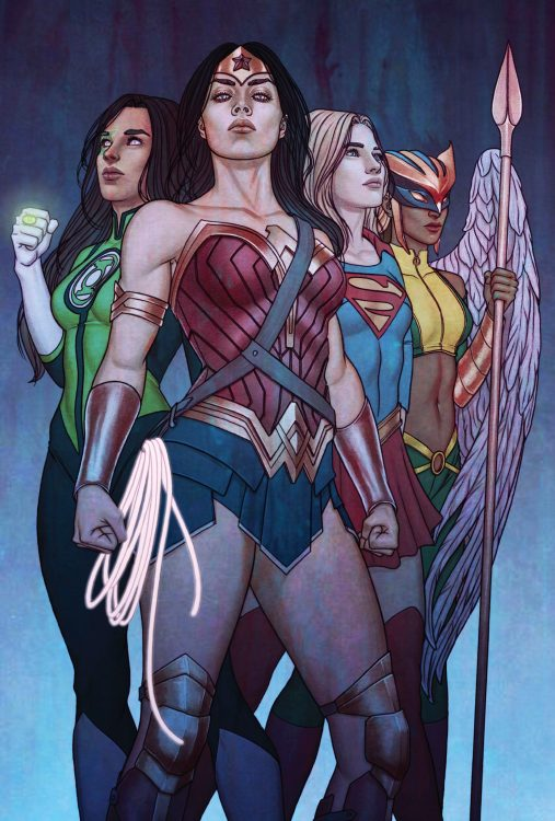 justice league women