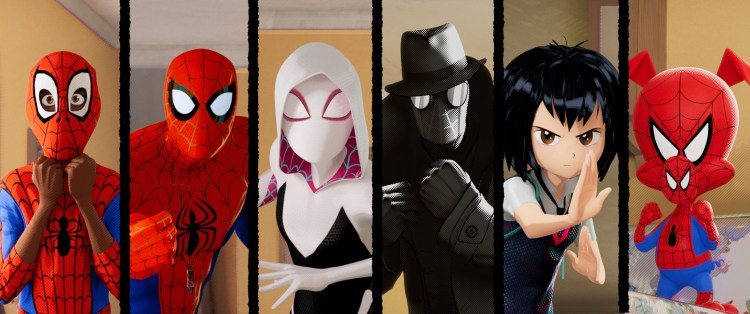 spider-people of the spider-verse