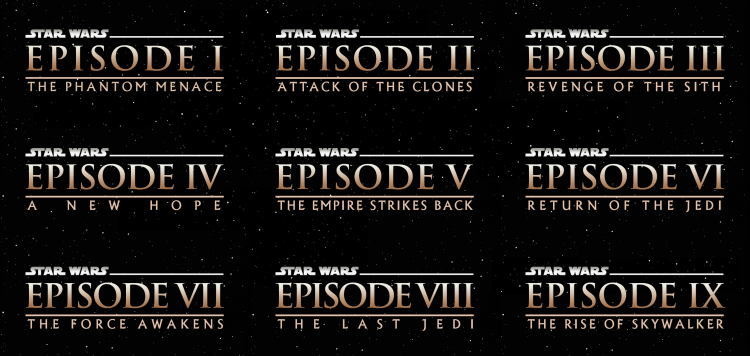 Classic Font For Star Wars