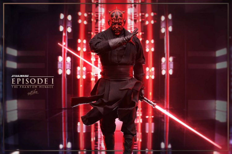 Darth Maul looking FIERCE