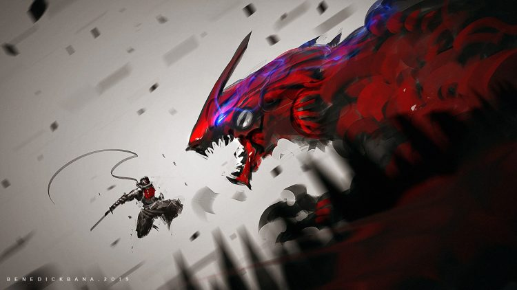 dragon vs ninja