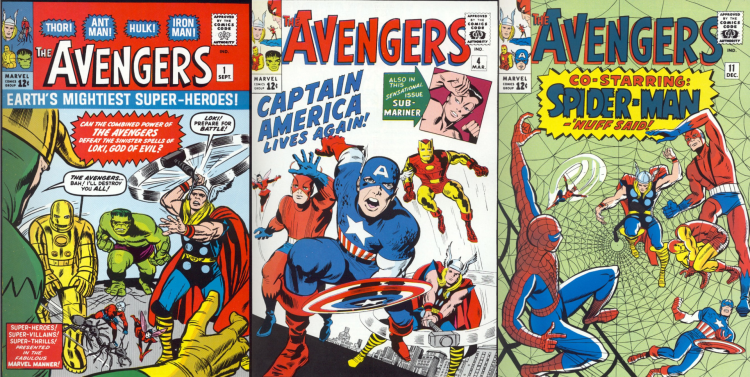 The Avengers Covers