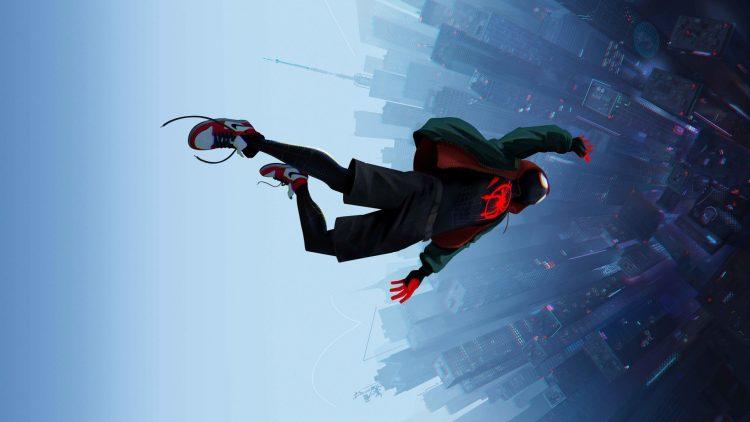 spider-man falls