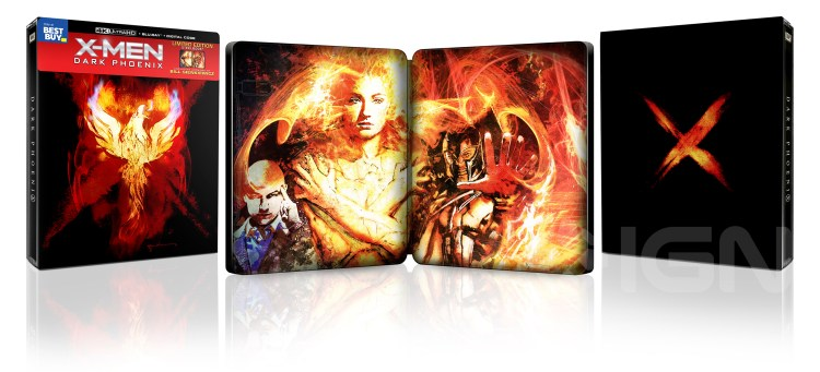 x-men dark phoenix steelbook