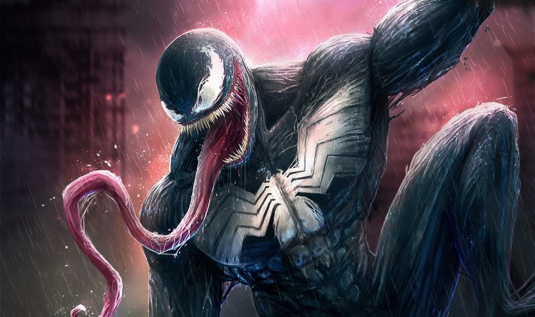 Venom in the rain