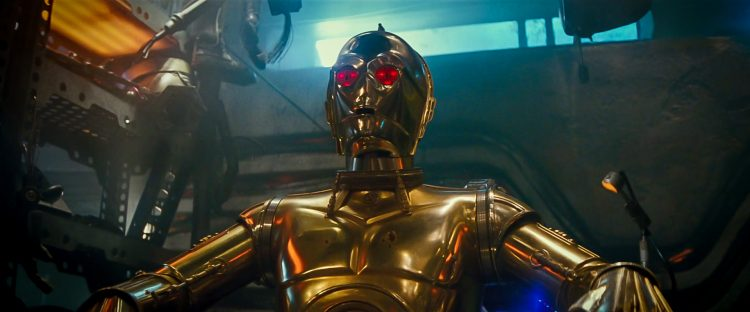 Red Eyed C-3PO