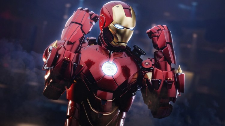 iron man with rockets