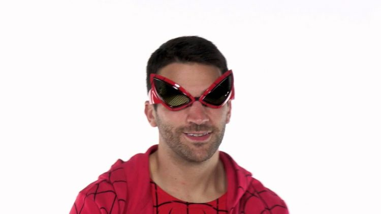 spider-man glasses