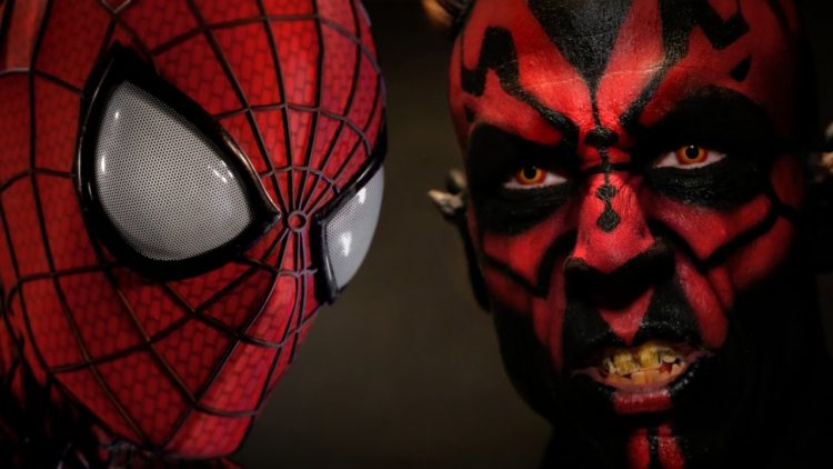 spider-man vs darth maul