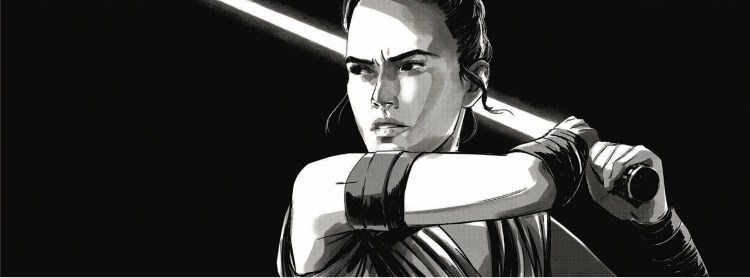 Rey in Sketch