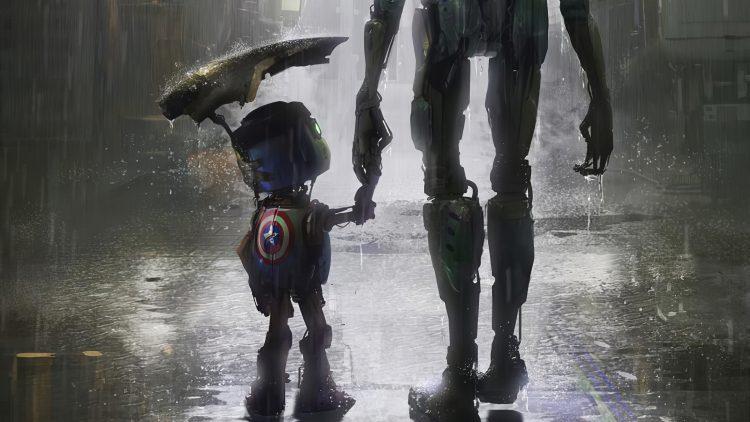 captain robot