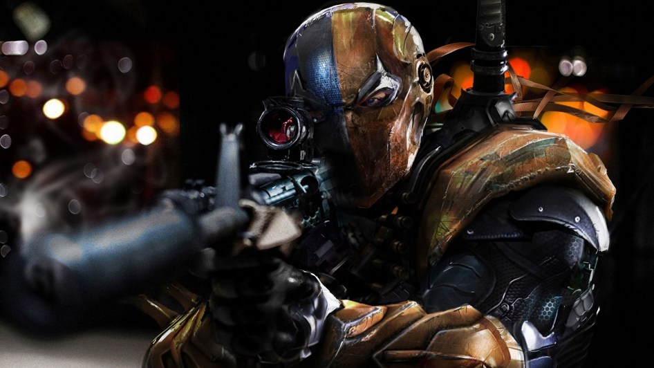 deathstroke taking aim