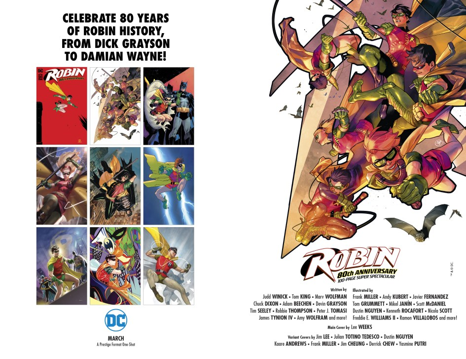 Celebrate 80 Years of Robin History