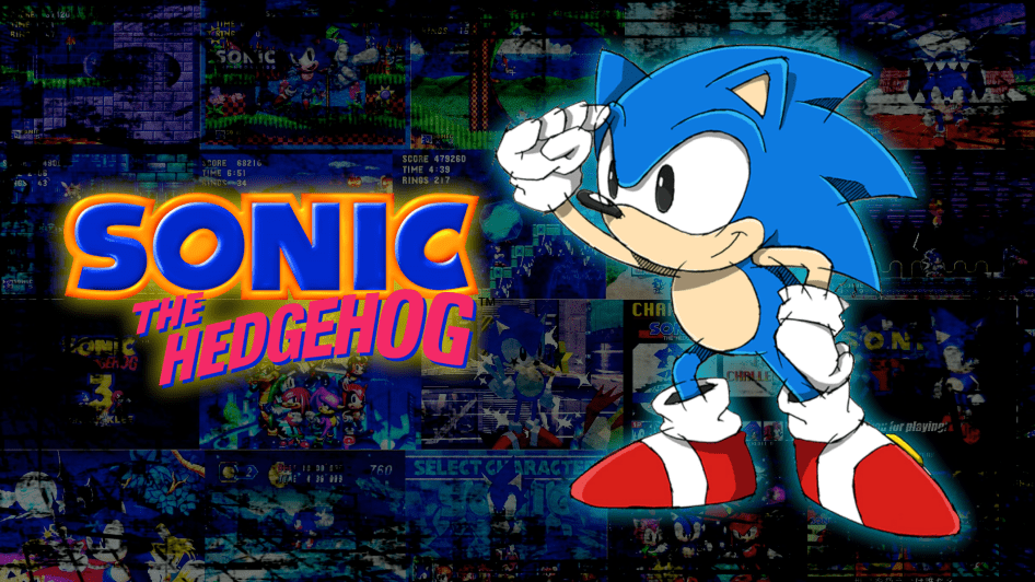 Sonic The Hedgehog In Classic Form