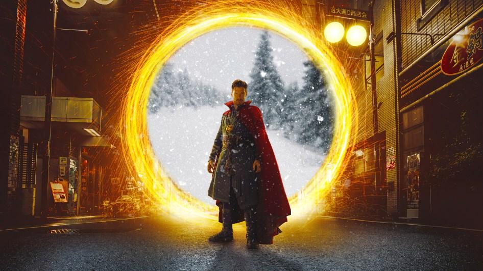 doctor strange has a portal