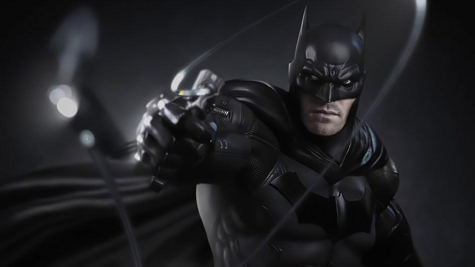 batman with a rope gun