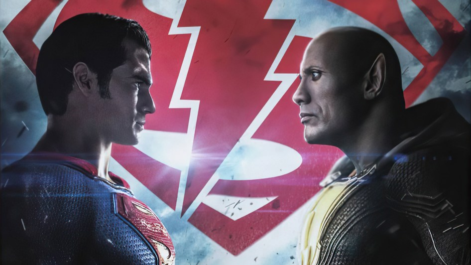 Superman Vs Black Adam