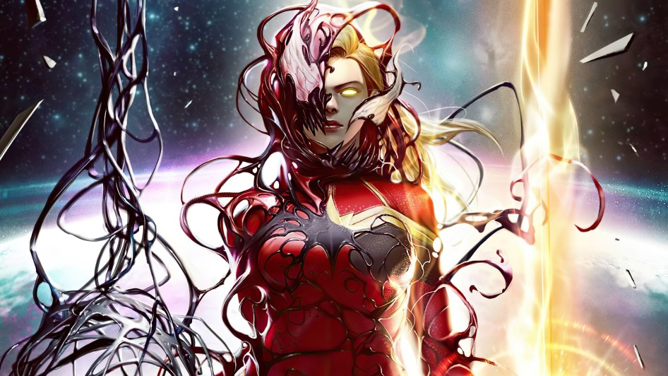 Carnage Captain Marvel
