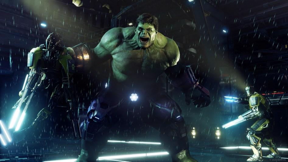 Hulk is angry