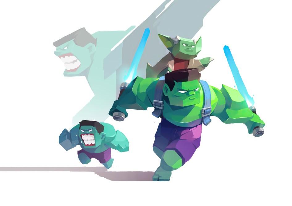 Jedi Hulk