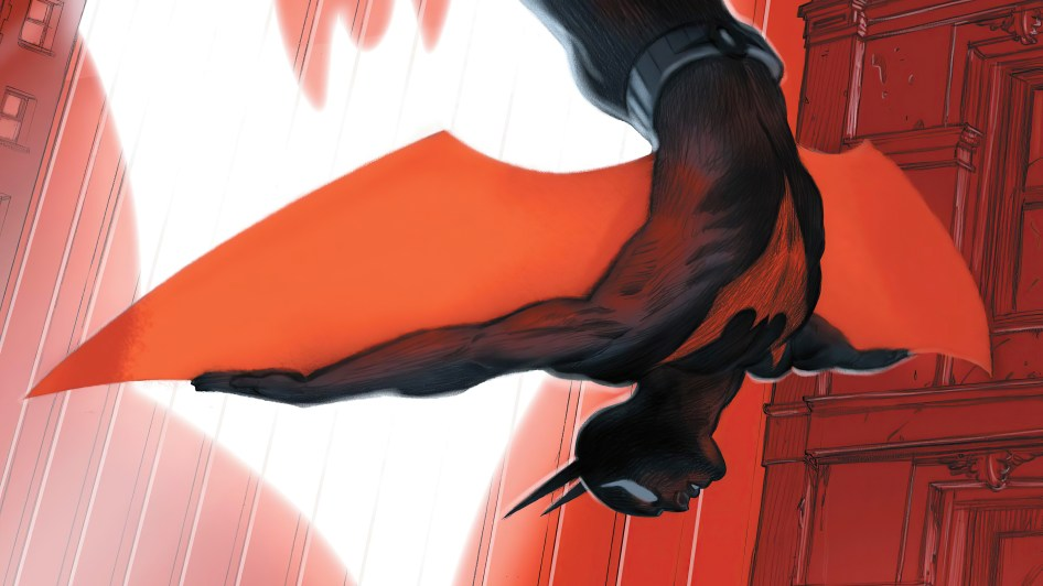 batman beyond falling in